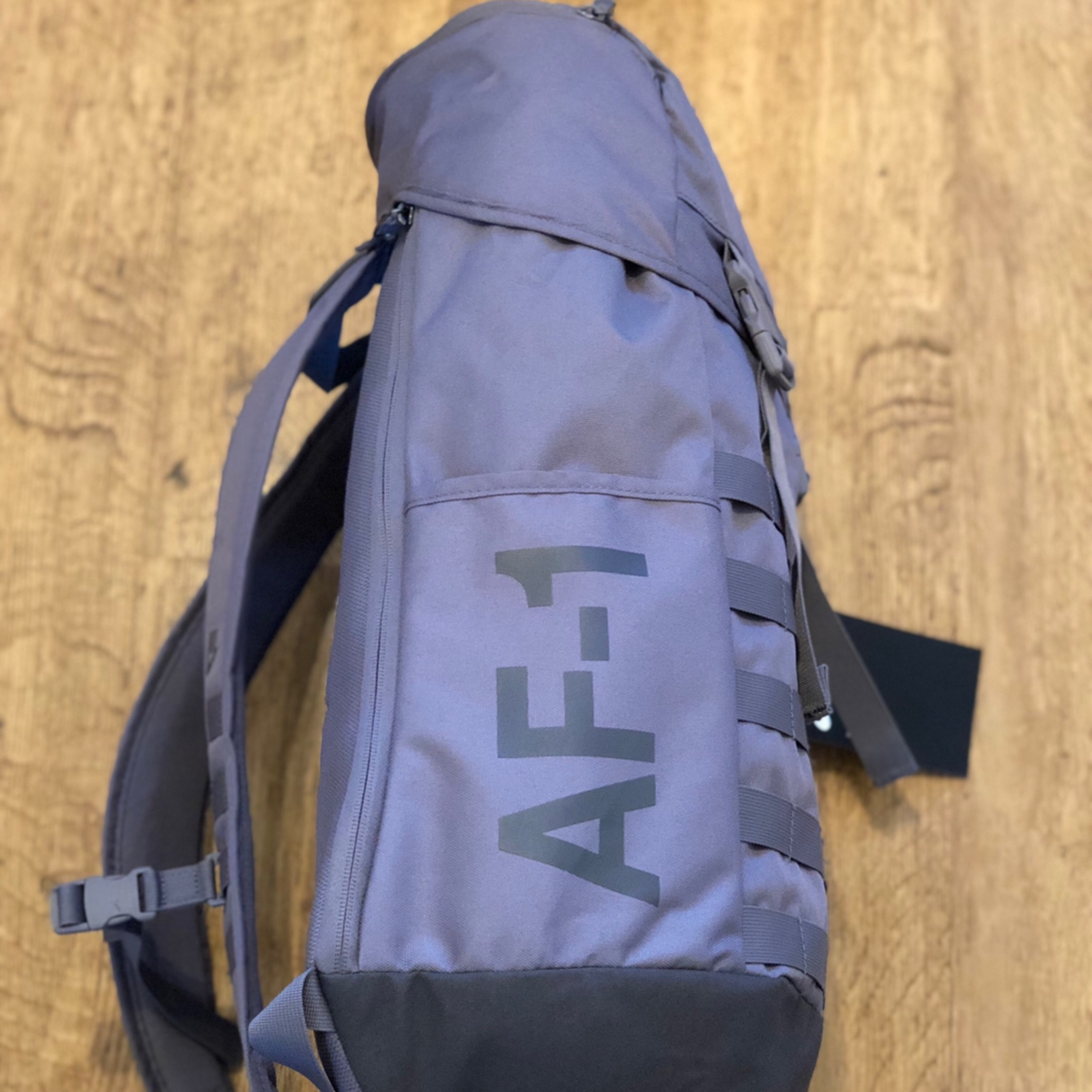 Nike Air Force 1 Backpack Grey New With
