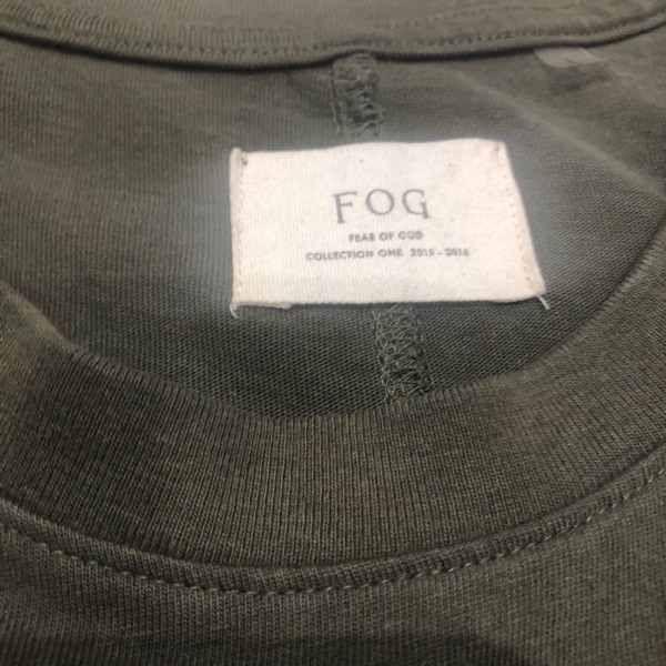 Fear Of God Olive Green Shirt 2015 To 2016