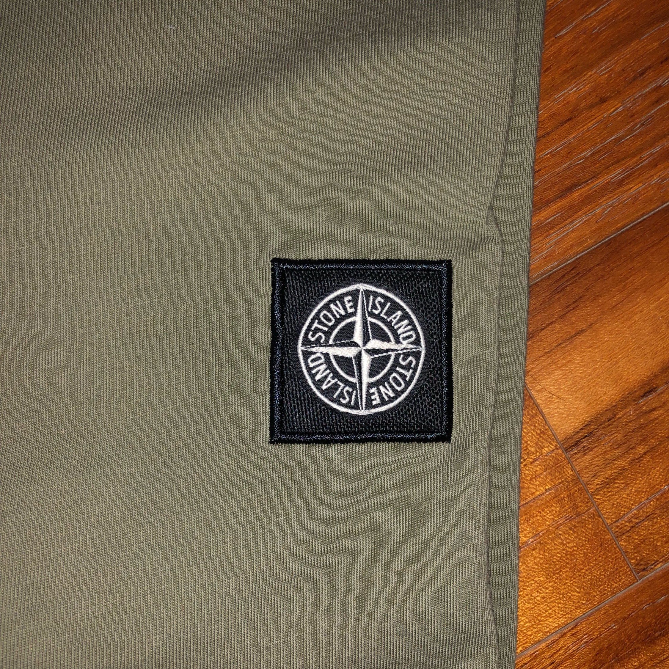 Stone Island Long Sleeve Logo Top