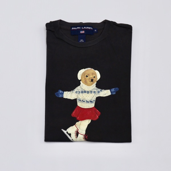 Ralph Lauren Polo Bear Ice Skating Tee
