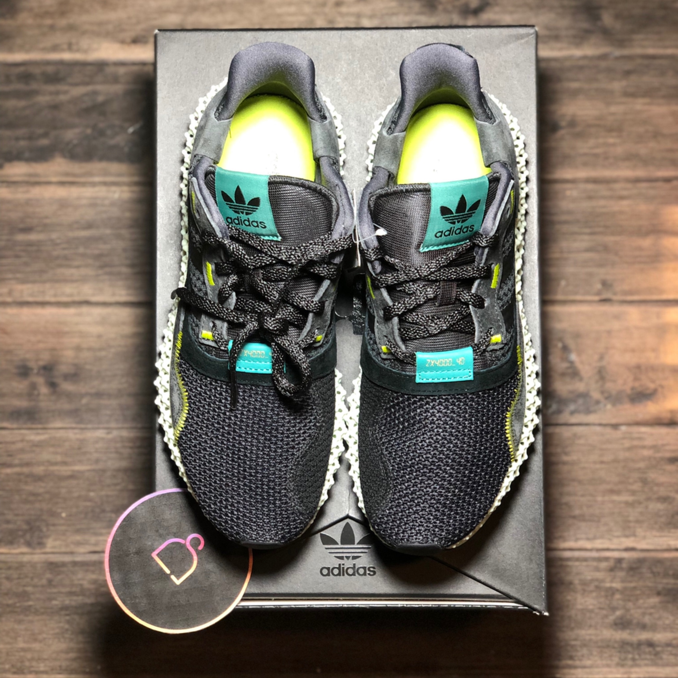 sneakers for cheap 09a07 39a19 Adidas Consortium Zx 4000 4D Carbon