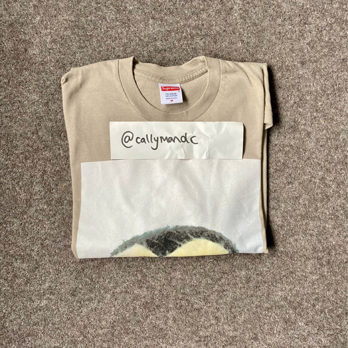 Supreme Mike Kelley AhhYouth! L/S Tee Clay