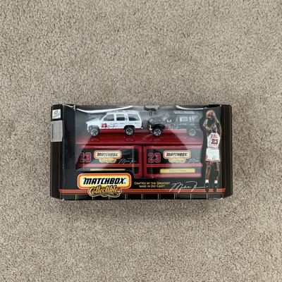 Michael Jordan Matchbox Set