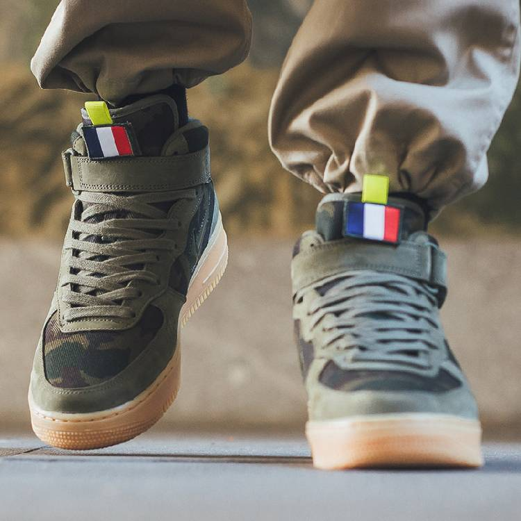 Nike Air Force 1 Mid Country Camo France