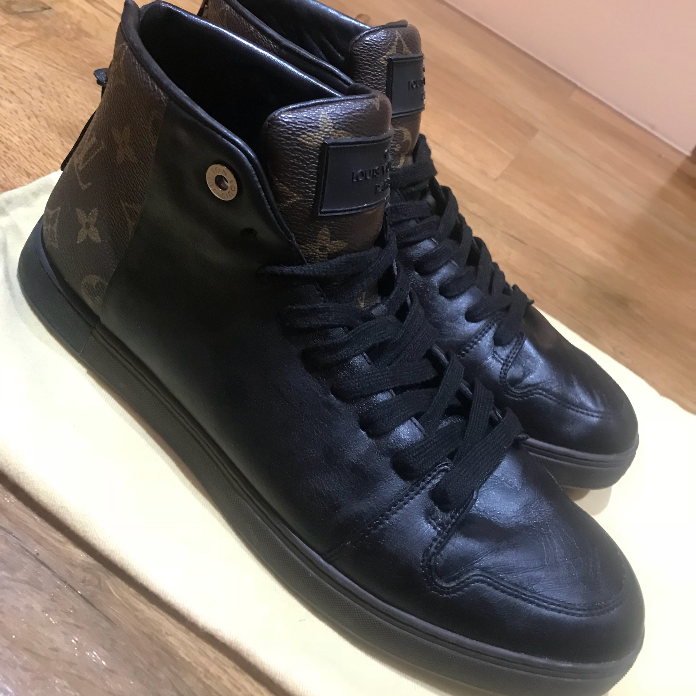 afe6452c62 Louis Vuitton Line Up Sneaker Boots