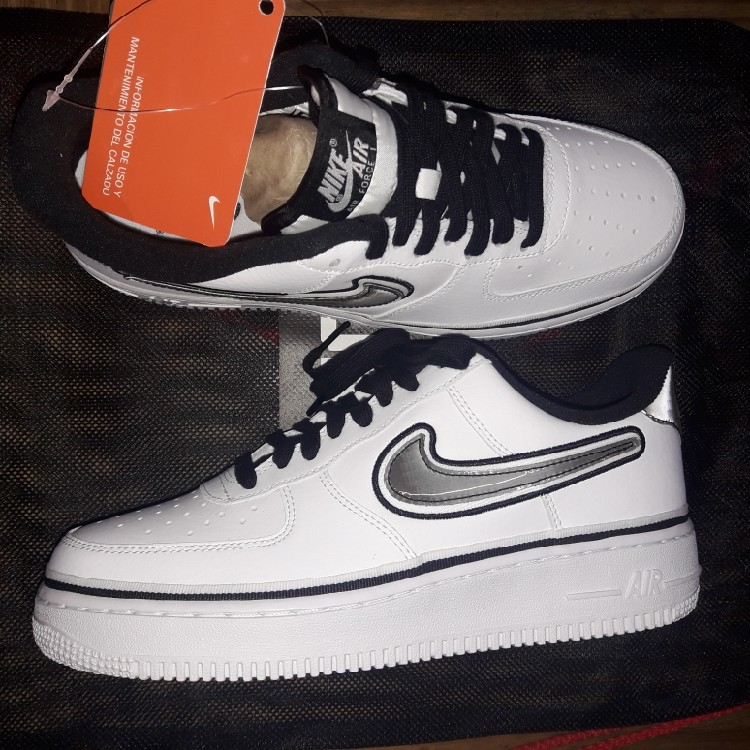 Nike Air Force One X Nba Pack Nuevas, Size 7.5us (Precio Charlable)