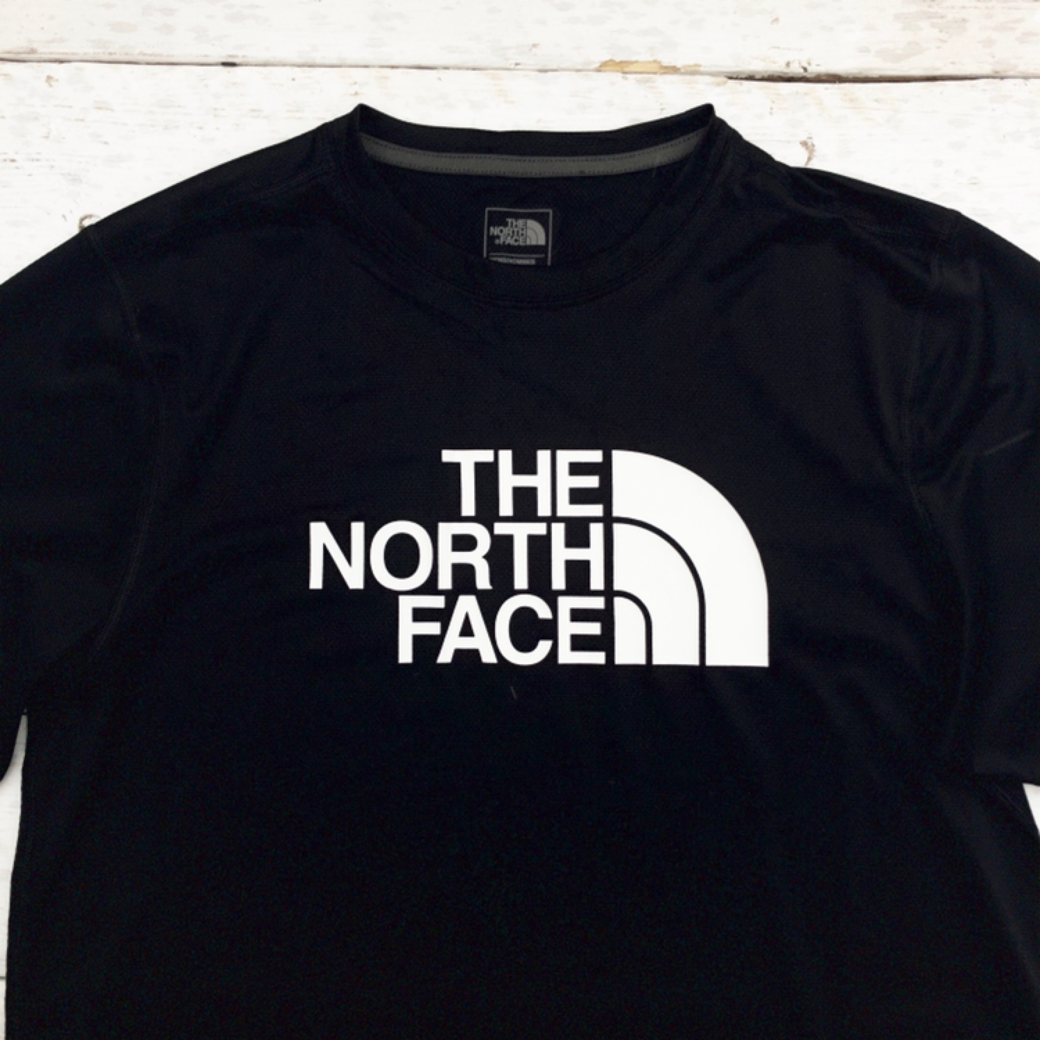 f1bd52868 Brand New Black The North Face Polyester Tee Shirt