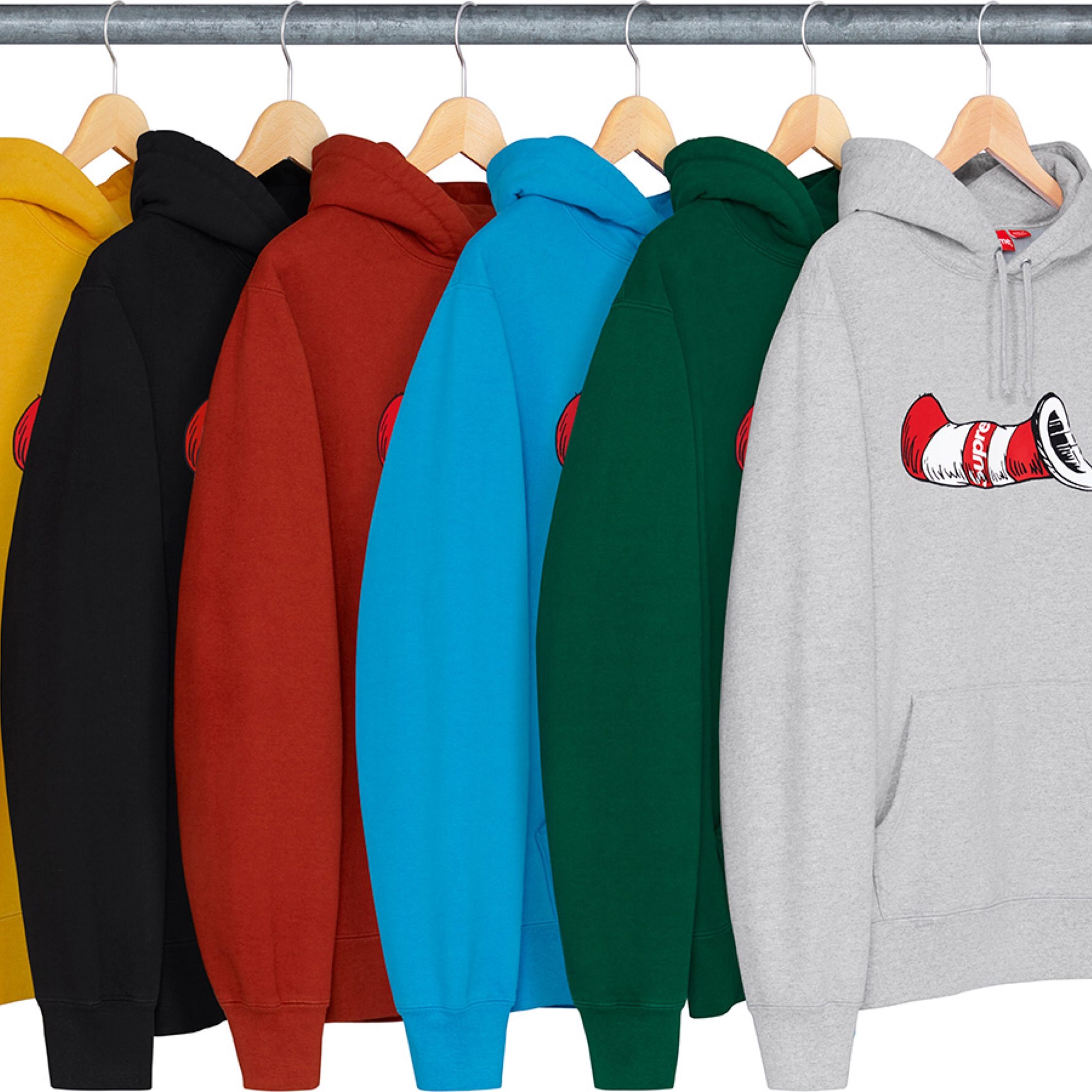 Supreme Cat In The Hat Hoodie Online Proxy