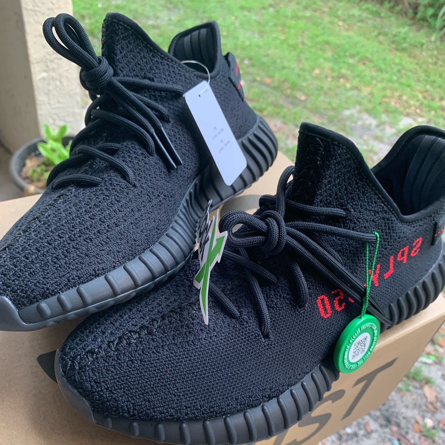 promo code 22437 3097f Adidas Yeezy Boost 350 V2 Black Red 2017 Bred