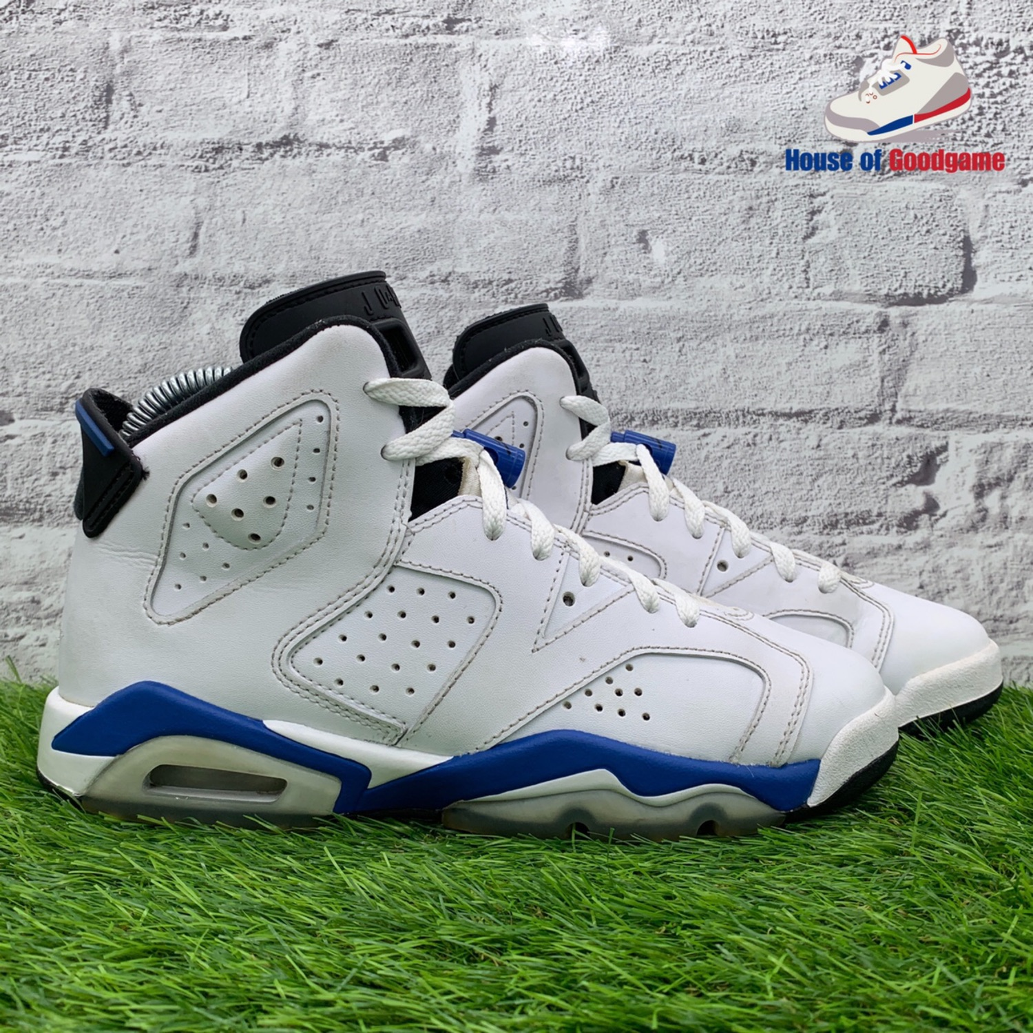 new product 1cb26 0ea17 Nike Air Jordan 6 Sport Blue