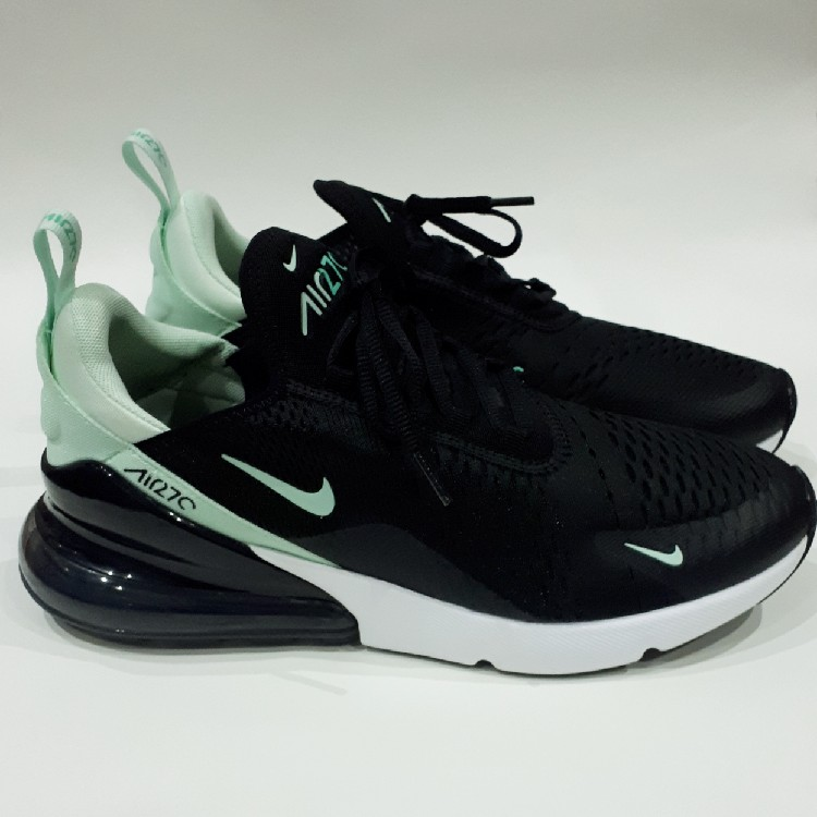 brand new da3c5 0f82a Black/Mint Nike Air Max 270. UK 9.5, US 12, EUR 44.5, CM 29