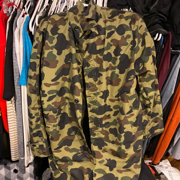 Bape Camo Button Up