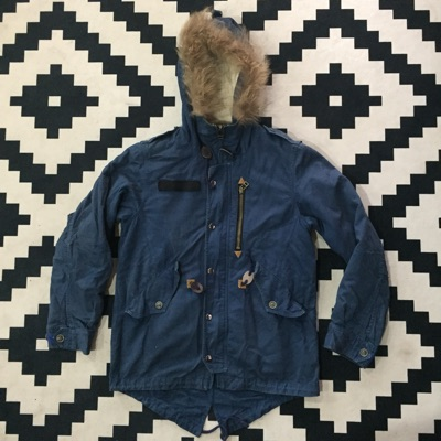 Vetements Style Military Fish Tail Parka