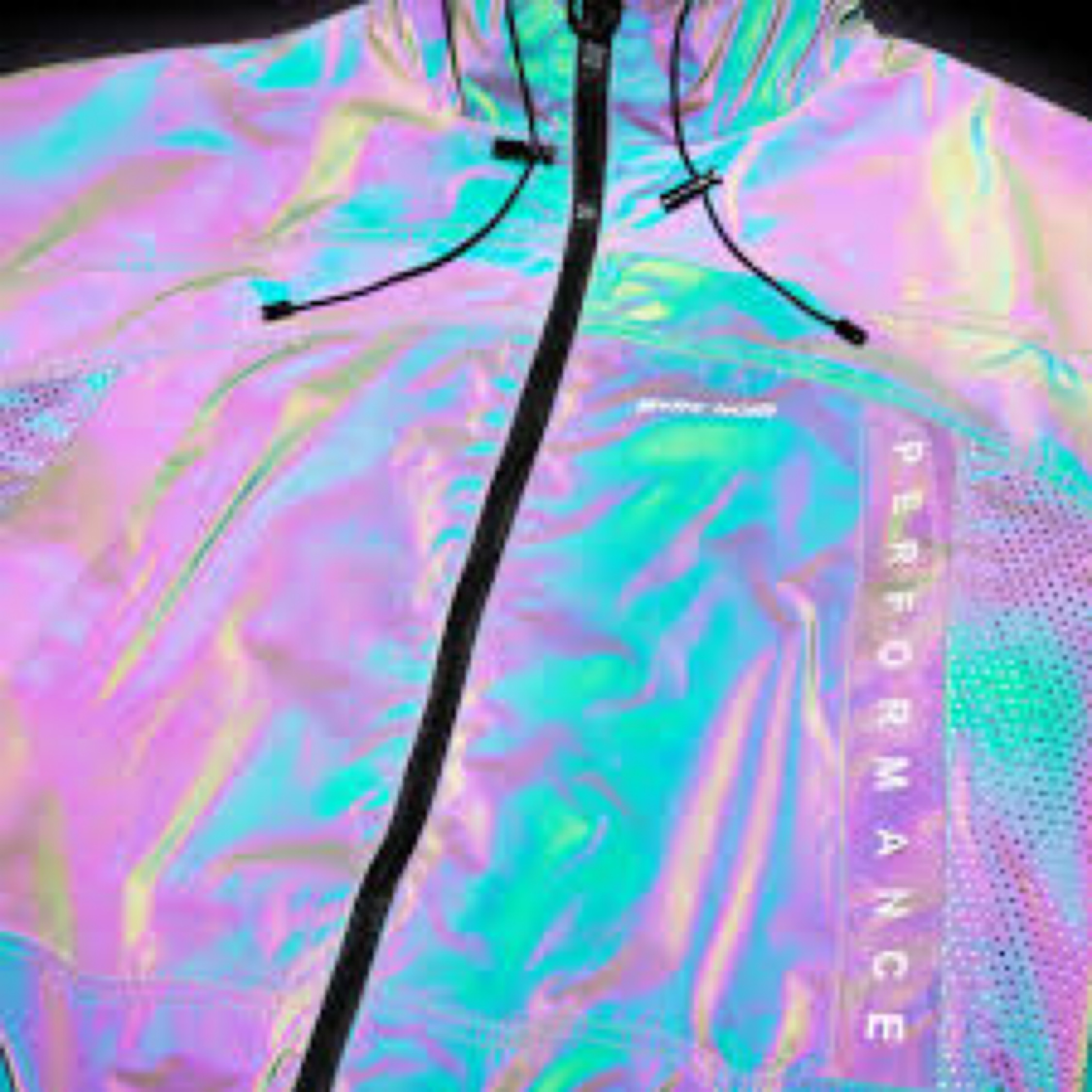 aa50efb75 M+Rc Noir Ghost Dark Reflective Track Jacket