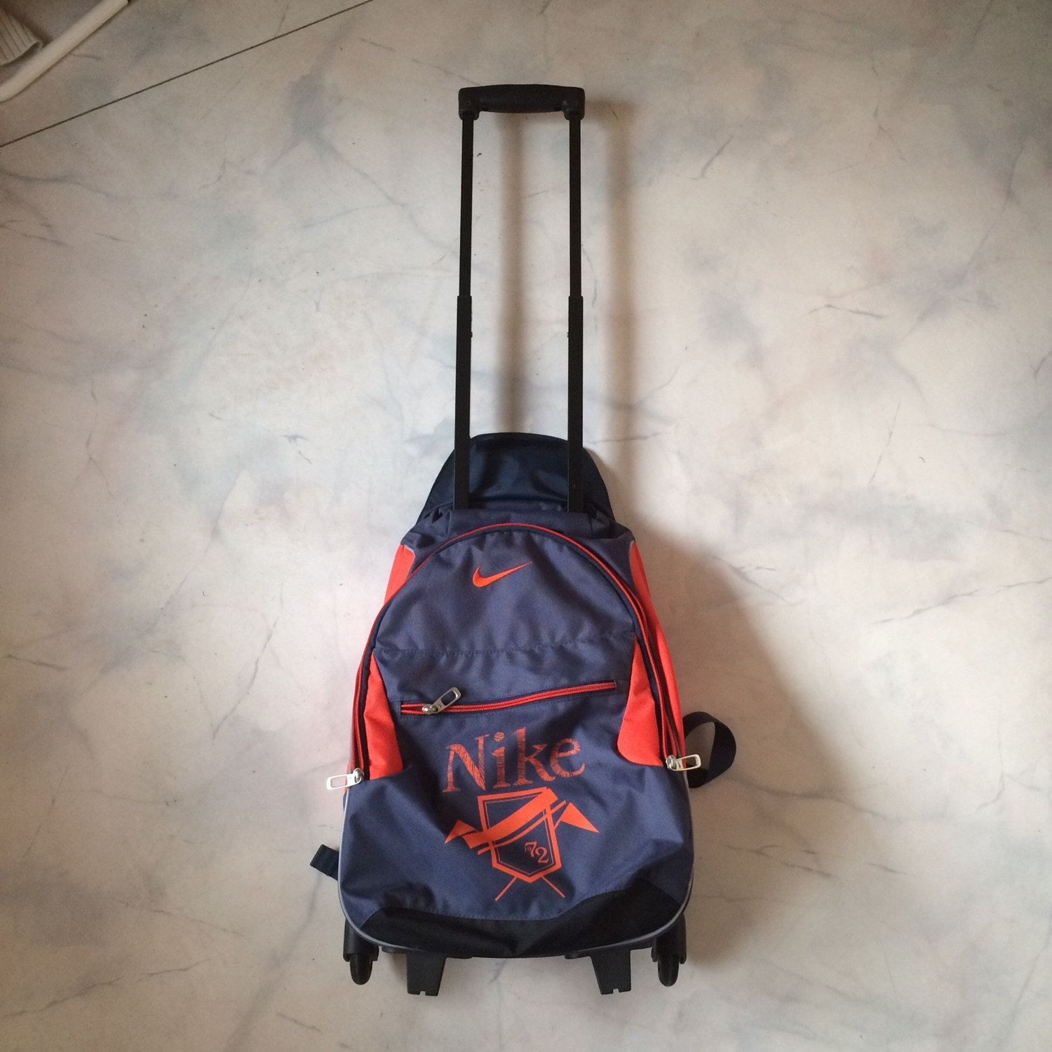 Vintage Niks Small Suitcase / Backpack