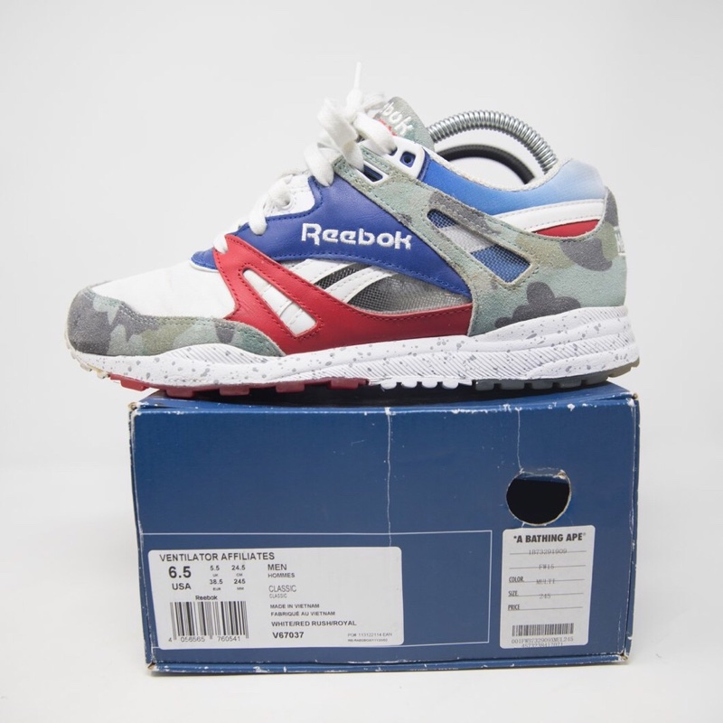 Mita x Bape x Reebok Ventilator (UK 5.5 / USED)b