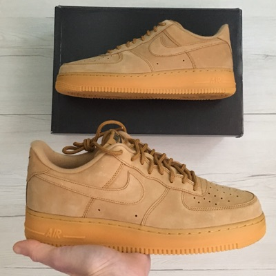 Air Force 1 Low Wheat Black