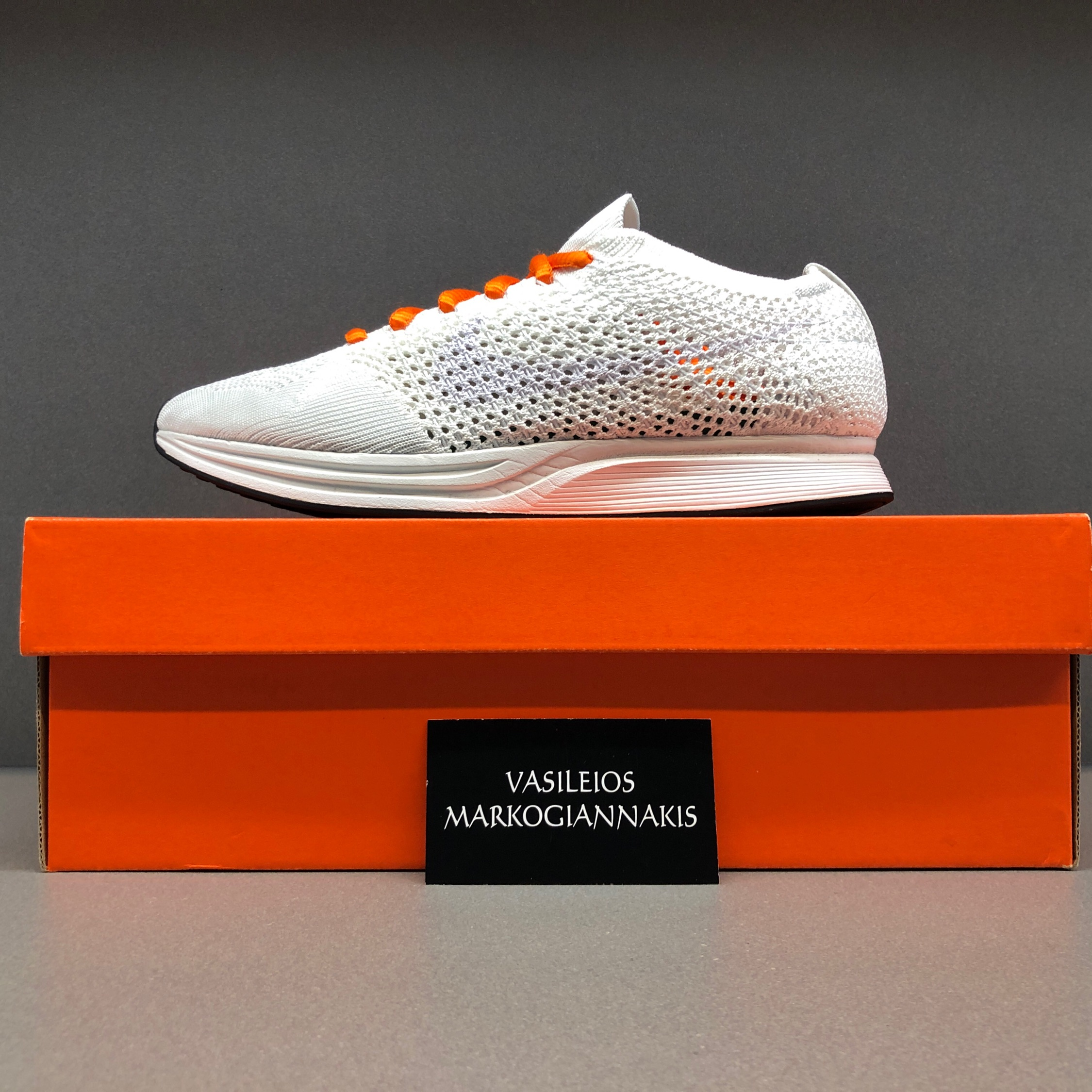 Flyknit Racer Box Athletic Shoes