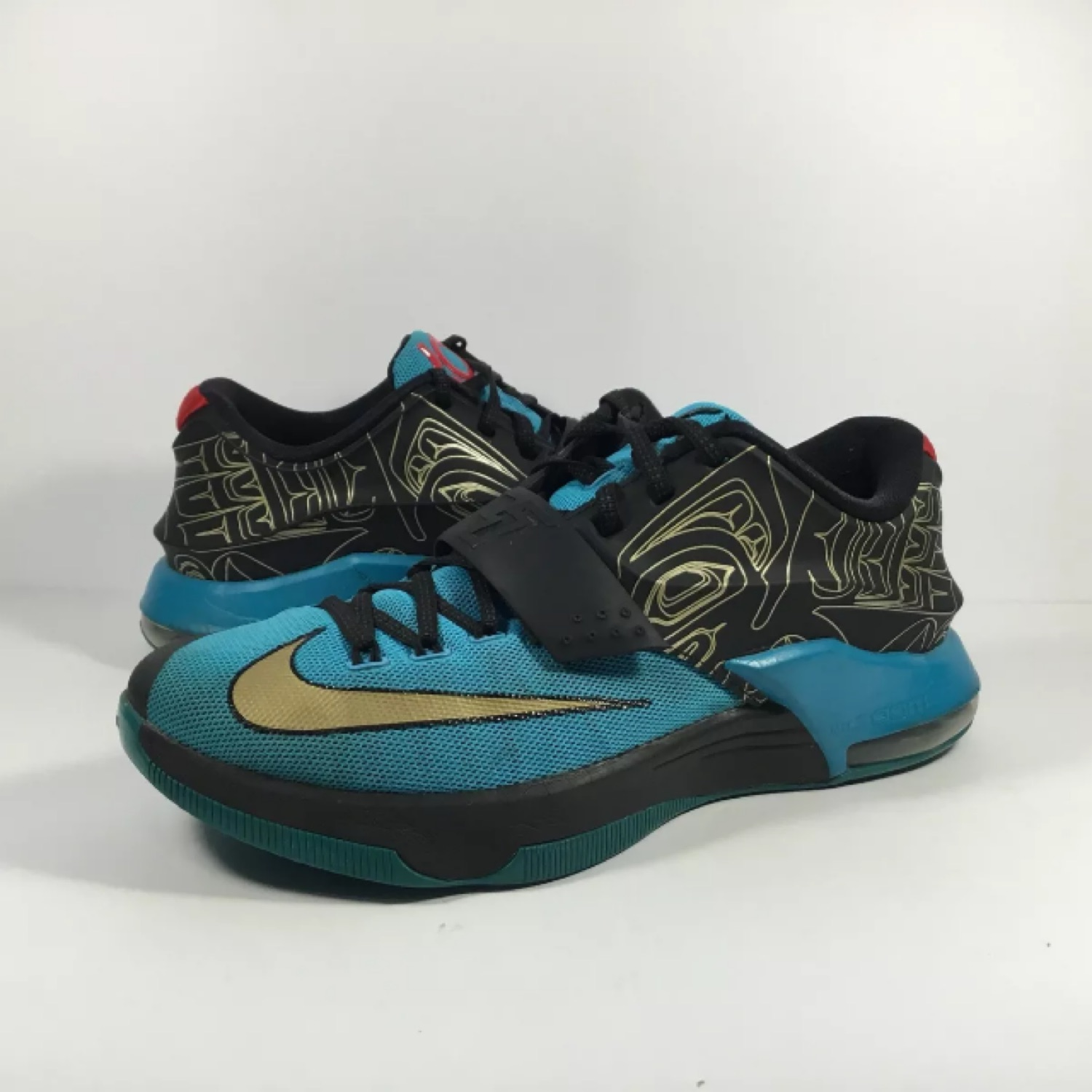 separation shoes e02bd 51ca7 Nike Kd 7 Vii N7 Blue Black