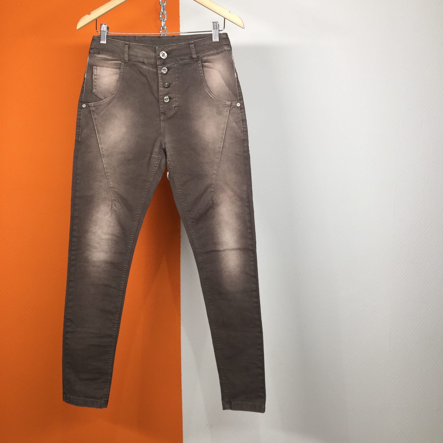 Maryley Women Jeans Made In Italy