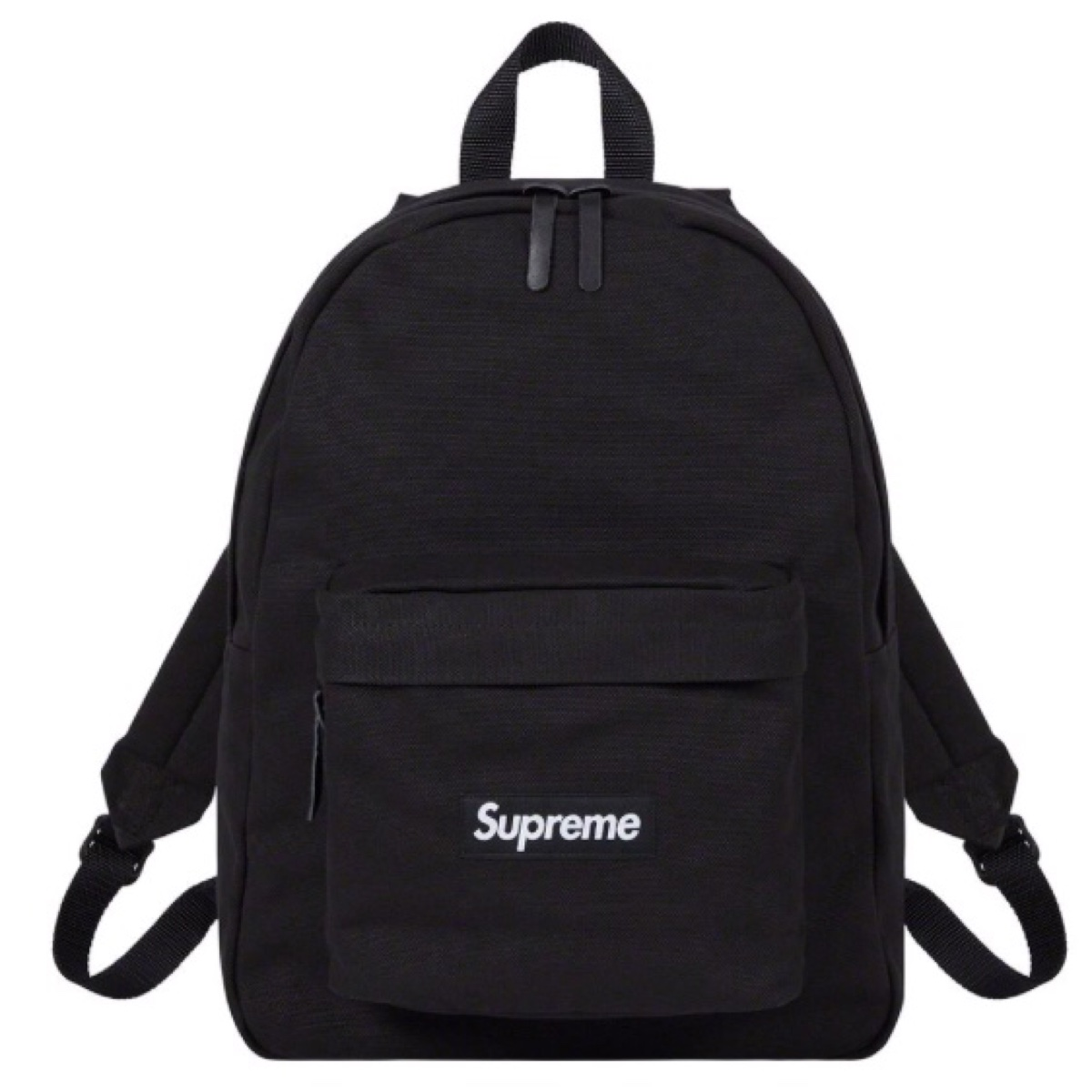 Supreme Canvas Backpack Black