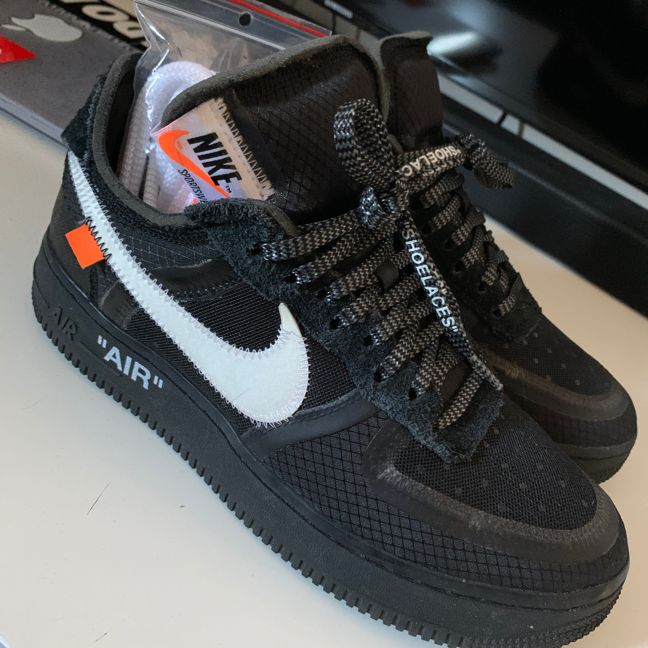 Nike Air Force 1 Off White Black