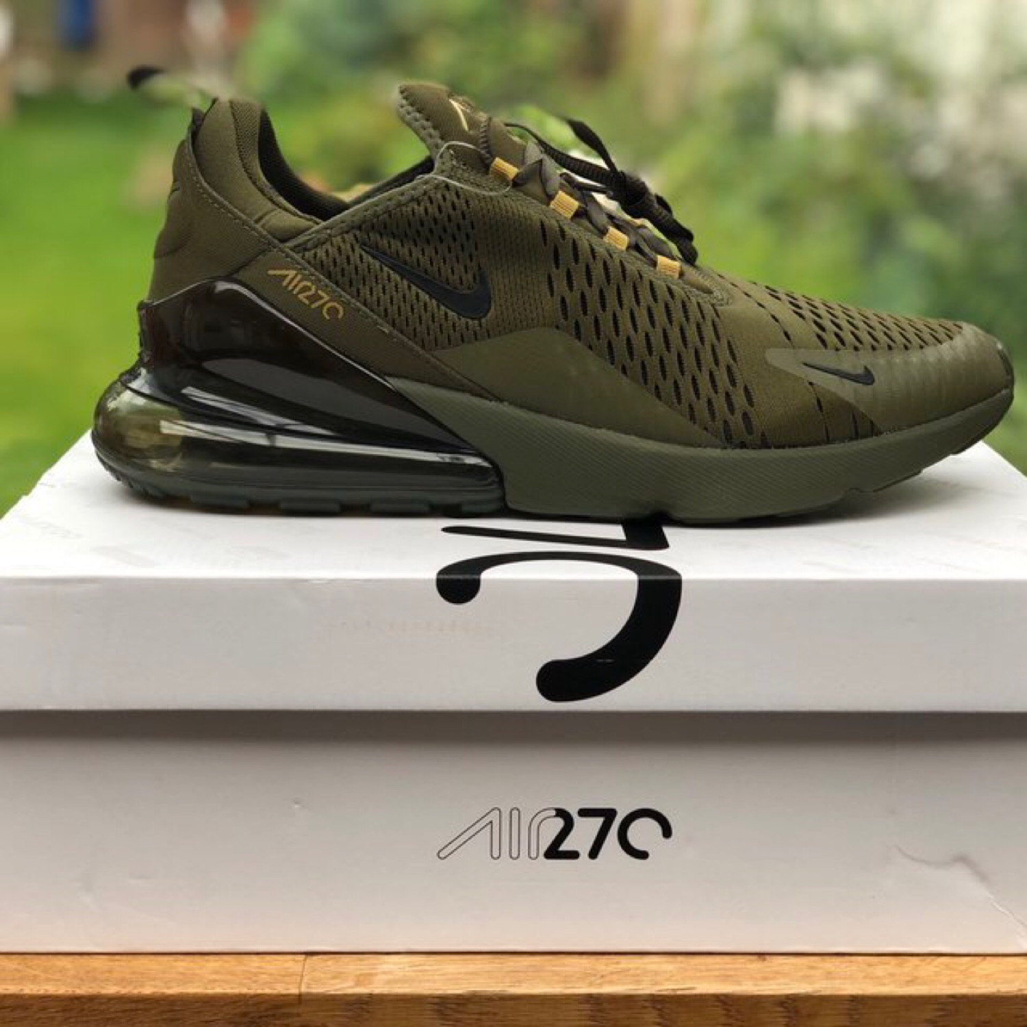 Nike Air Max 270 Olive Canvas