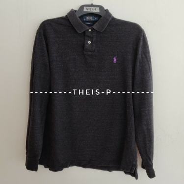 Polo Ralph Lauren Stone Black  Rugby Polo