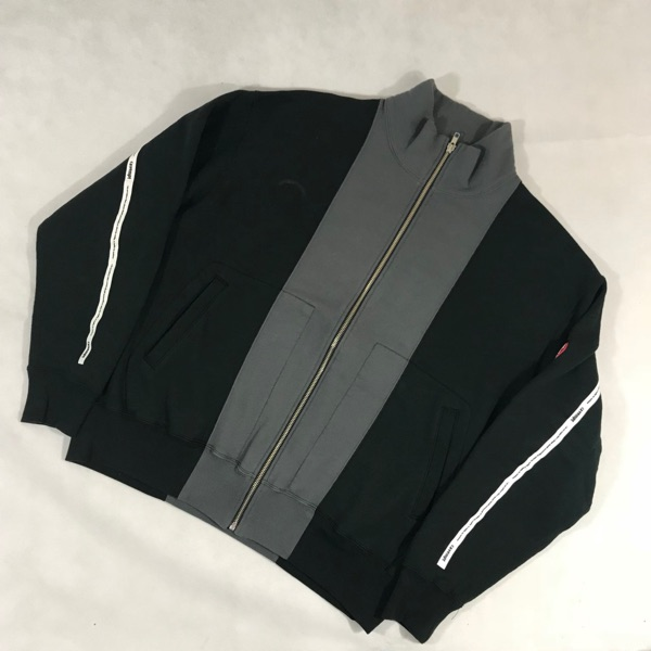 Cav Empt Two Tone Zip Up Pullover - Size M