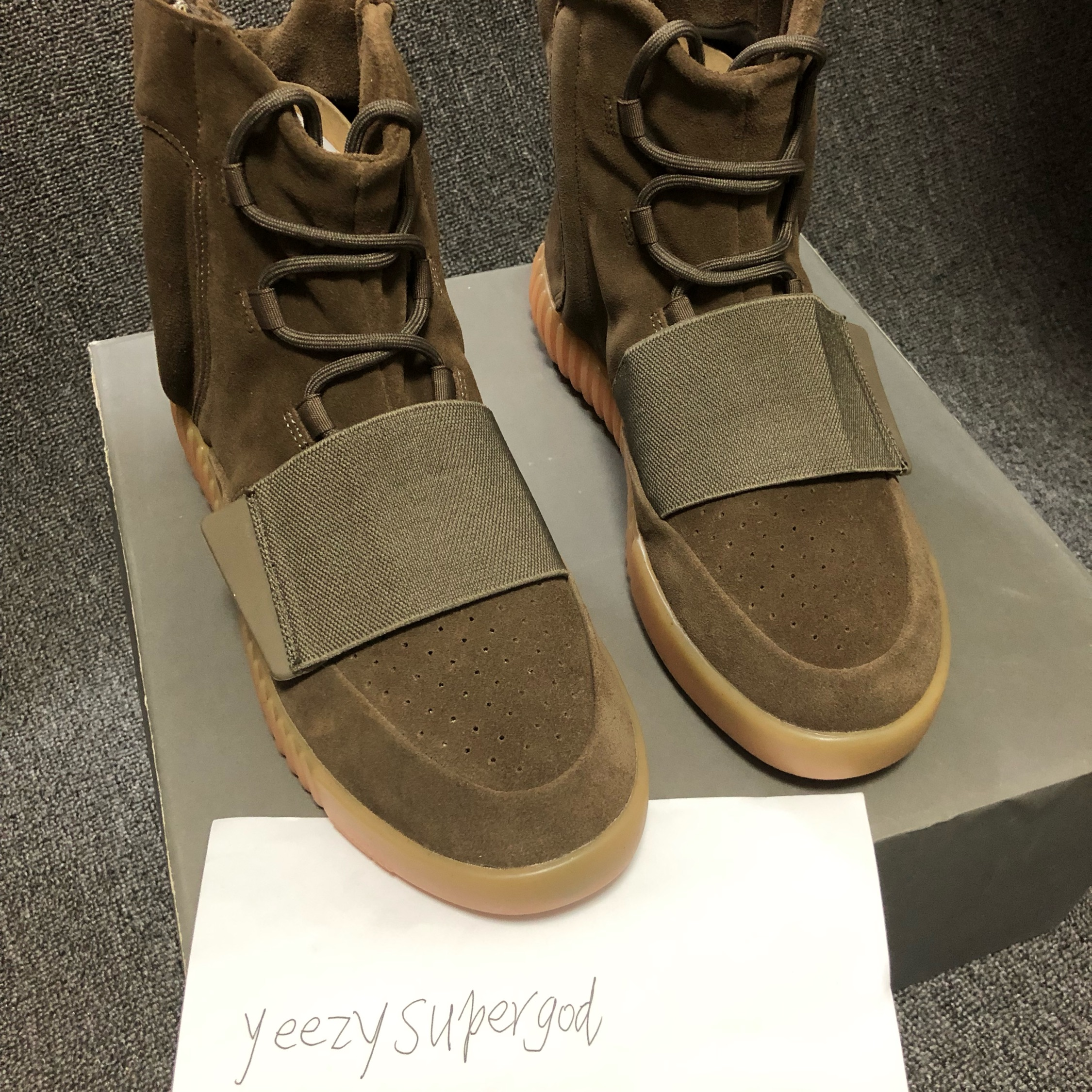 102b8e31502dc Adidas Yeezy Boost 750 Light Brown Gum (Chocolate)