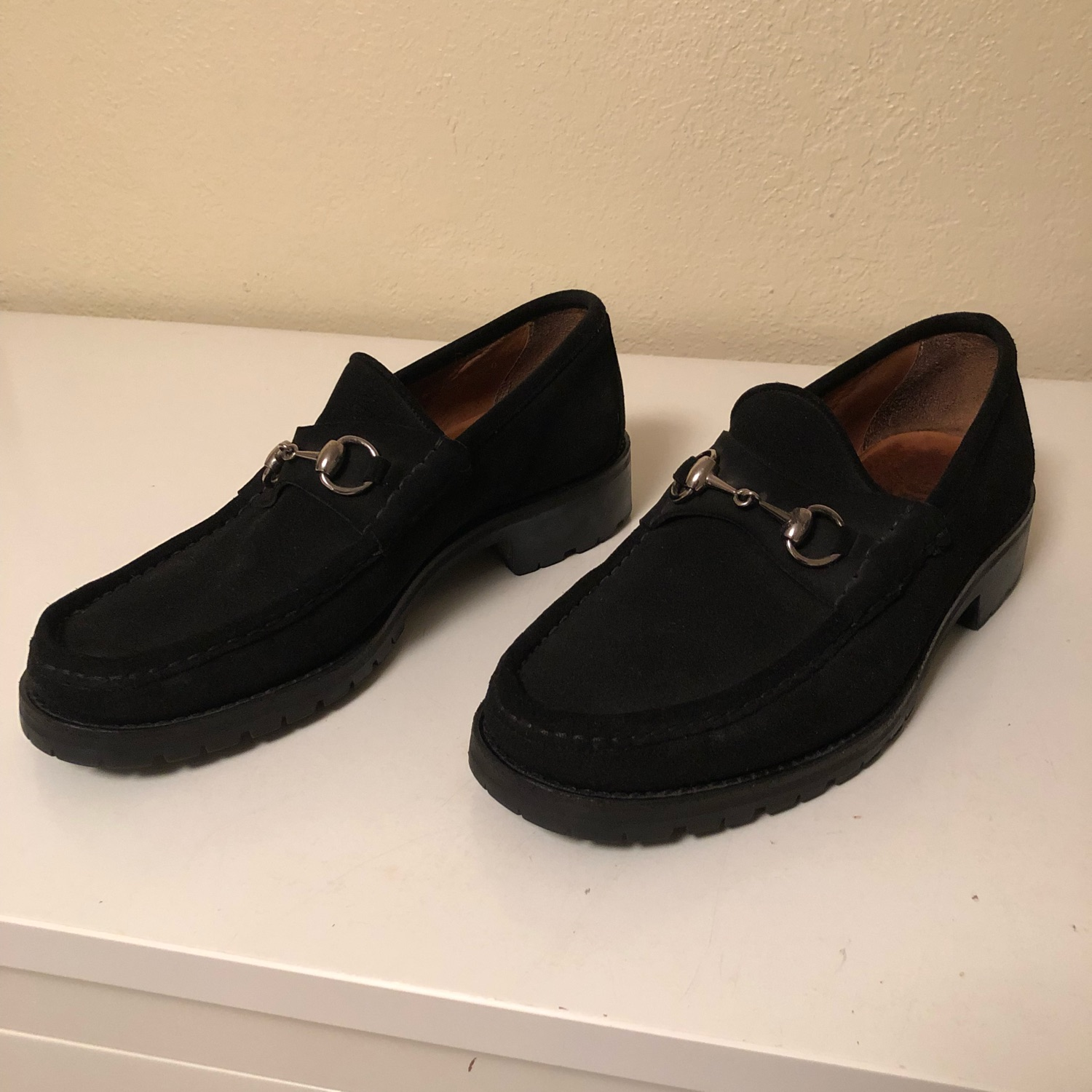 Used Vintage Gucci Loafers