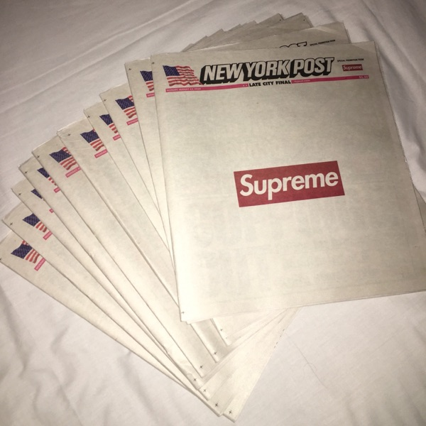 Supreme Newspapers In Hand (Uk)