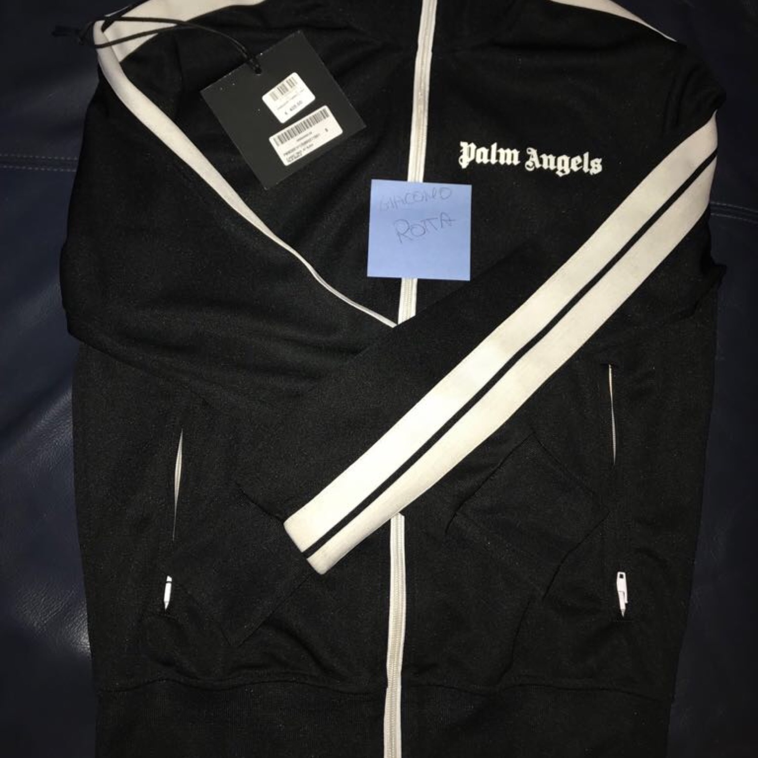 Palm Angels Track Top Size S