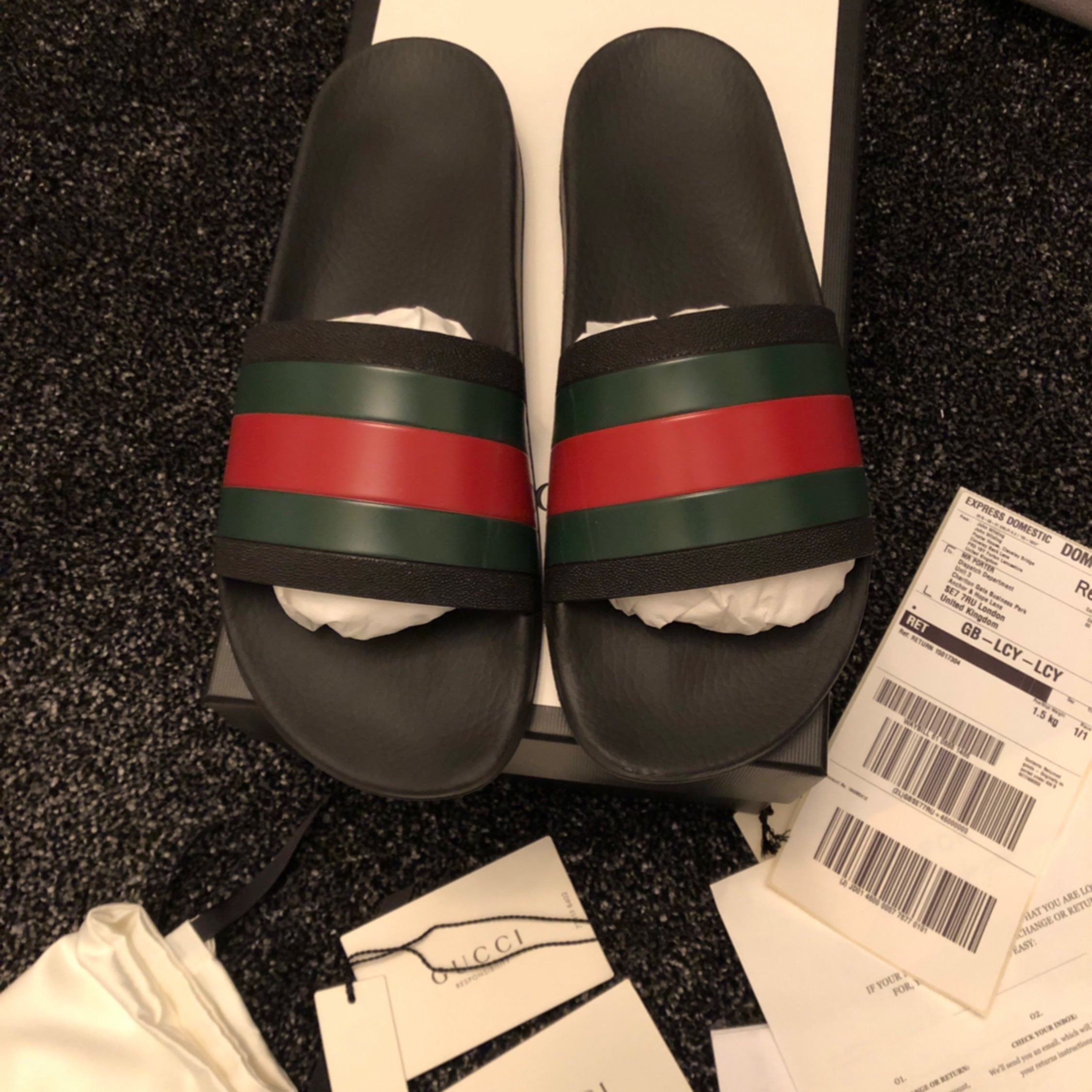 gucci slides black uk 9 gucci slides black uk 9