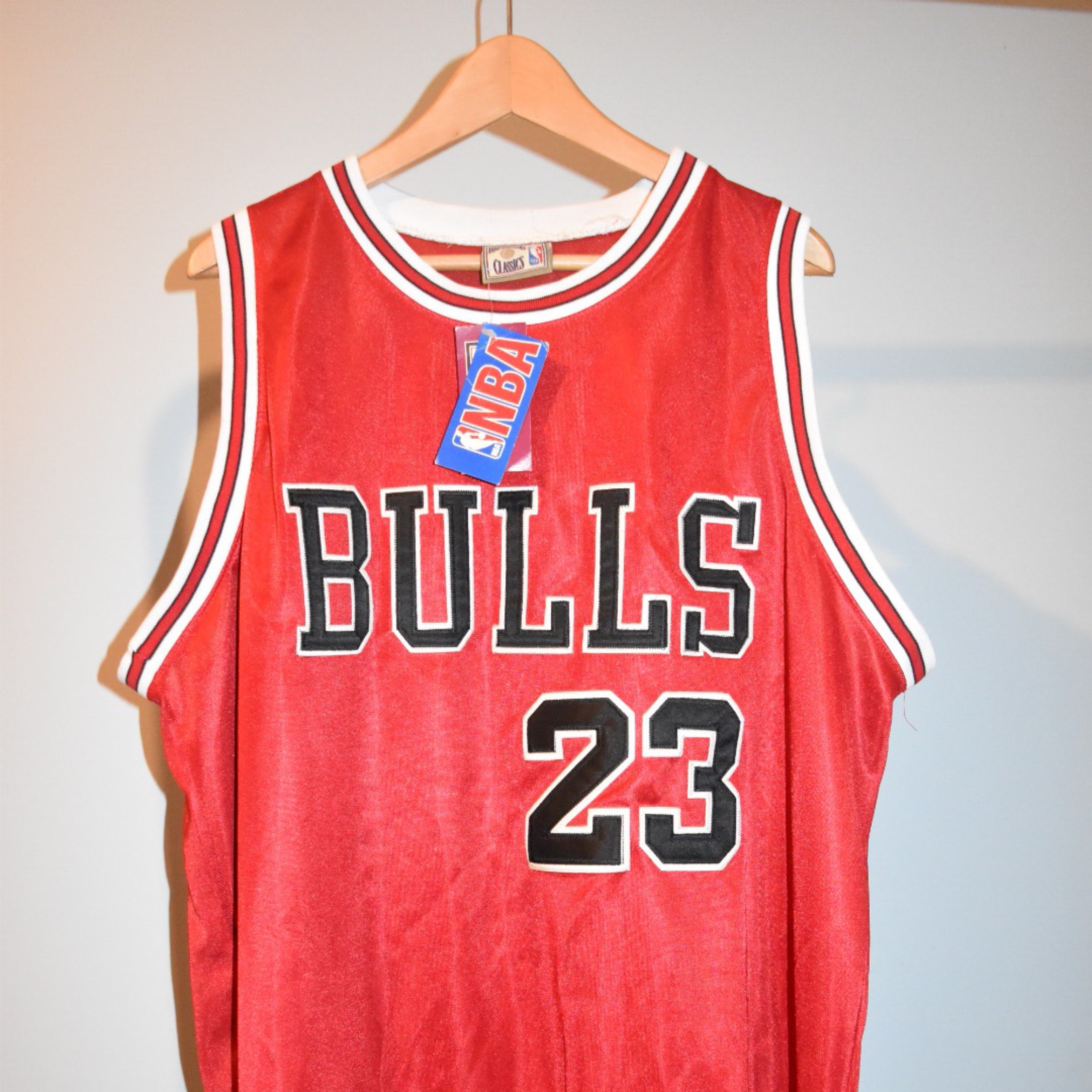 finest selection 3f576 e289c Mitchell And Ness Jordan Jersey Chicago Bulls Red