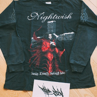 "Nightwish ""Your Death Saved Me"" 2005 Long Sleeve"