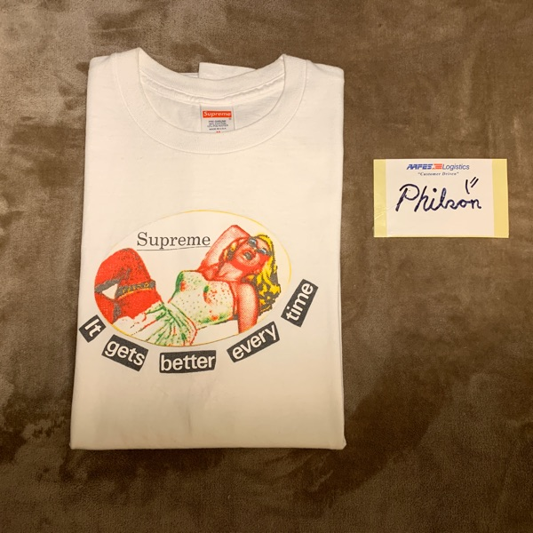 Supreme It Gets Better Every Time Tee
