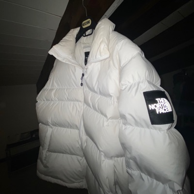 North Face Puffer White 3M 92