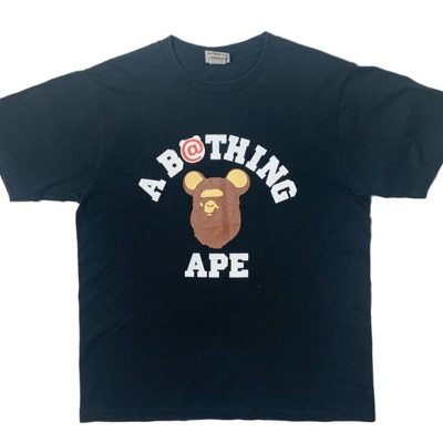 Bape Bearbrick T Shirt Black