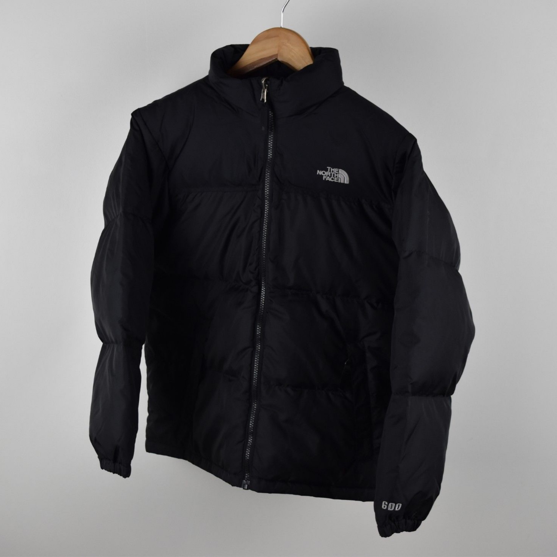 84b1d58fc Boys Black North Face 600 Size Large Down Puffer