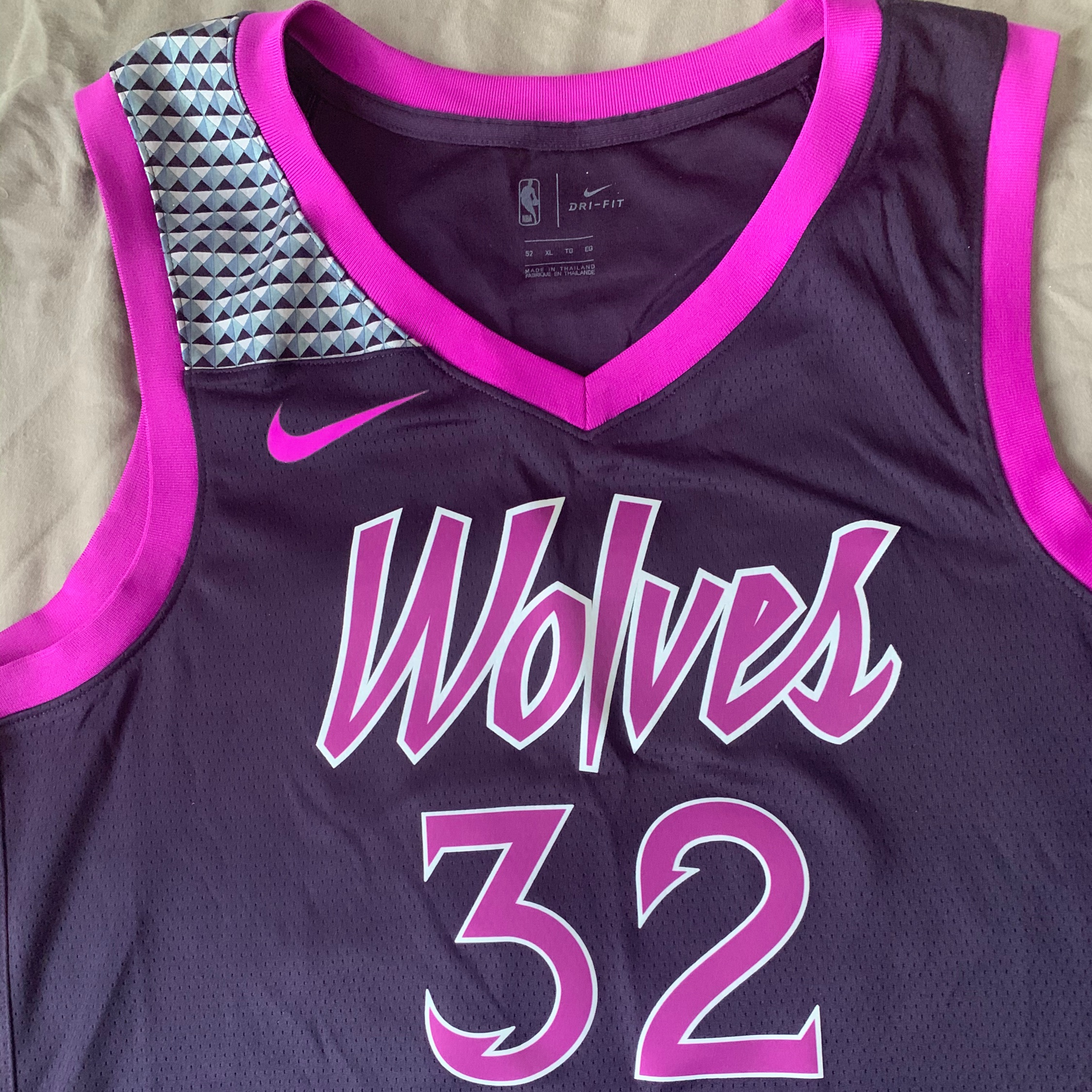 Timberwolves Purple Reign City Jersey Limited