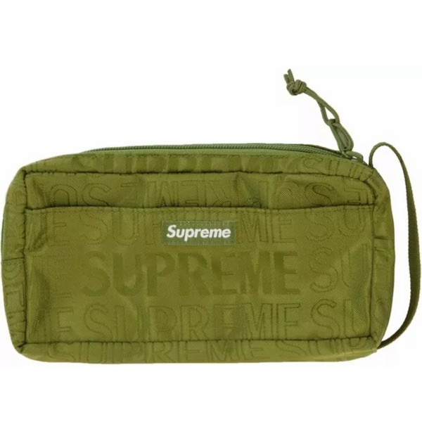Brand New Supreme Organizer Pouch Ss19 Olive Bag