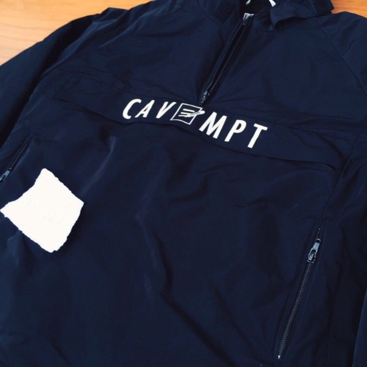 Cav Empt Pullover Sherpa 1/4 Zip With Middle Zip Pocket