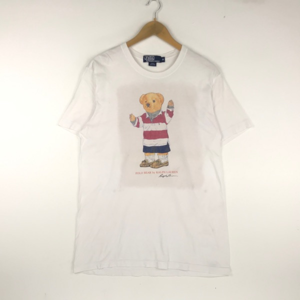 Vintage Polo Bear Tshirt Polo Ralph Lauren Shirt