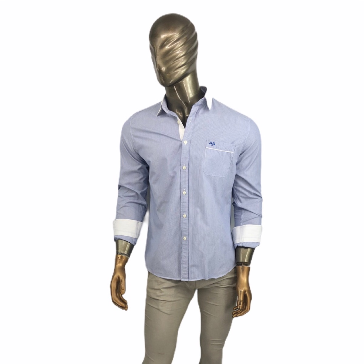 Burberry shirt striped classic luxury M