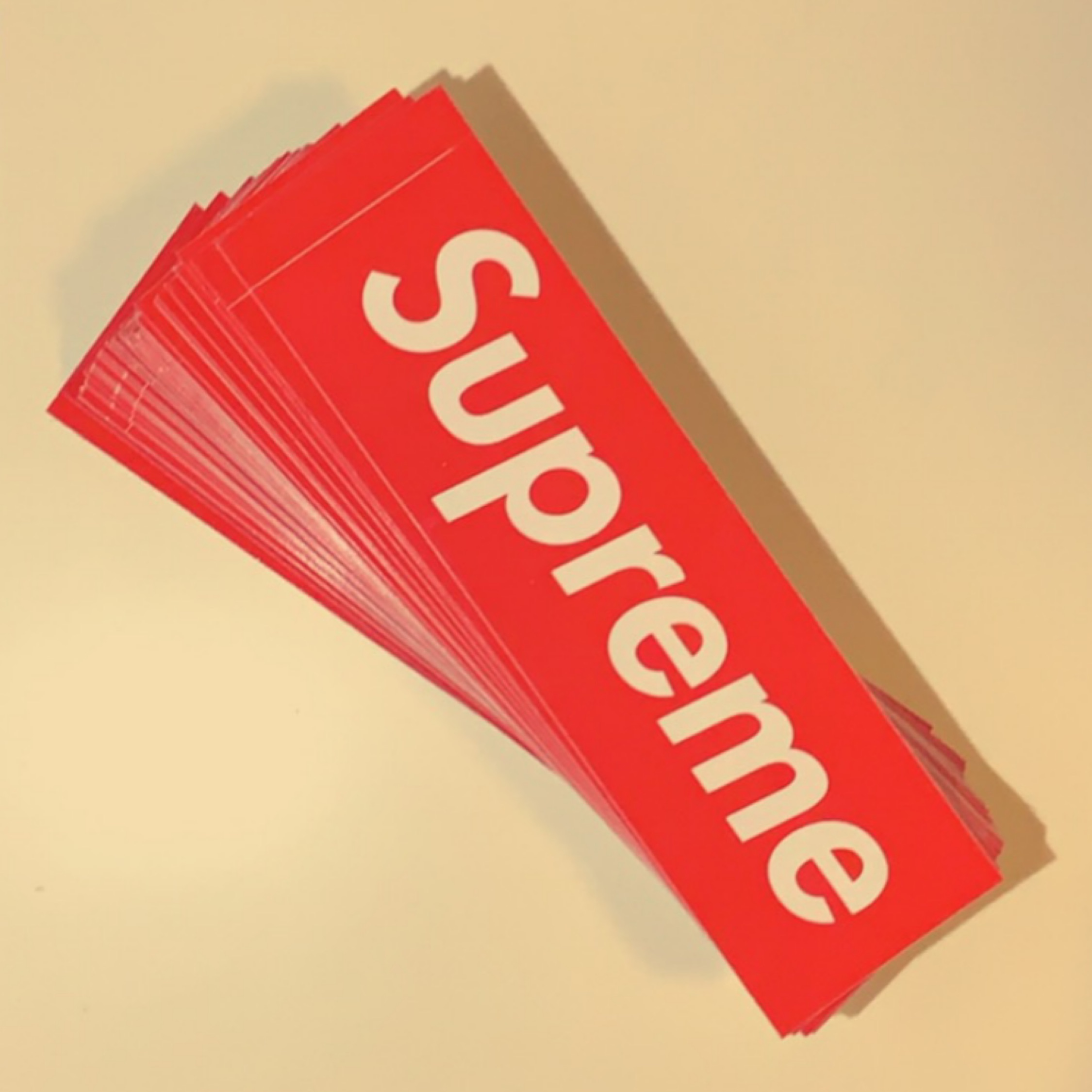 NEW Supreme Box Logo BLING Sticker SS20 In Hand 100/% AUTHENTIC Unopened