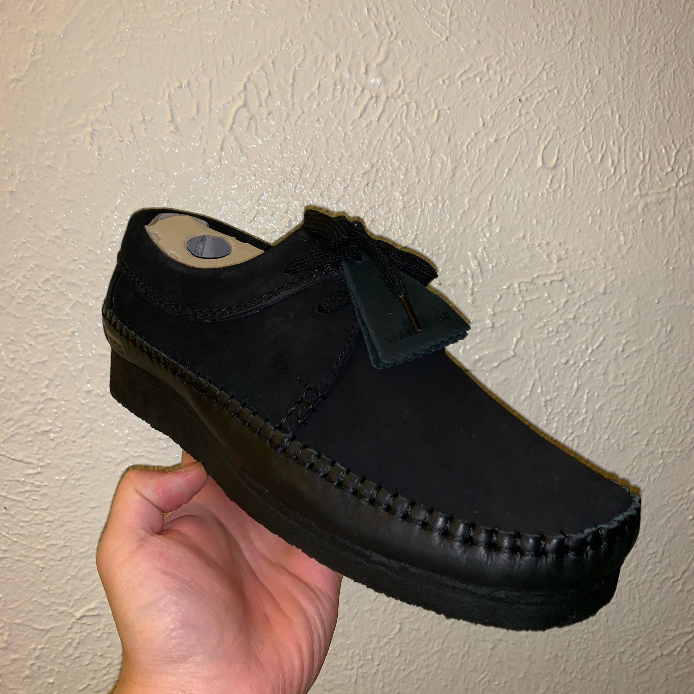 50-70%off limited guantity newest style Supreme X Clarks Weaver In Black Size 9.5 Us