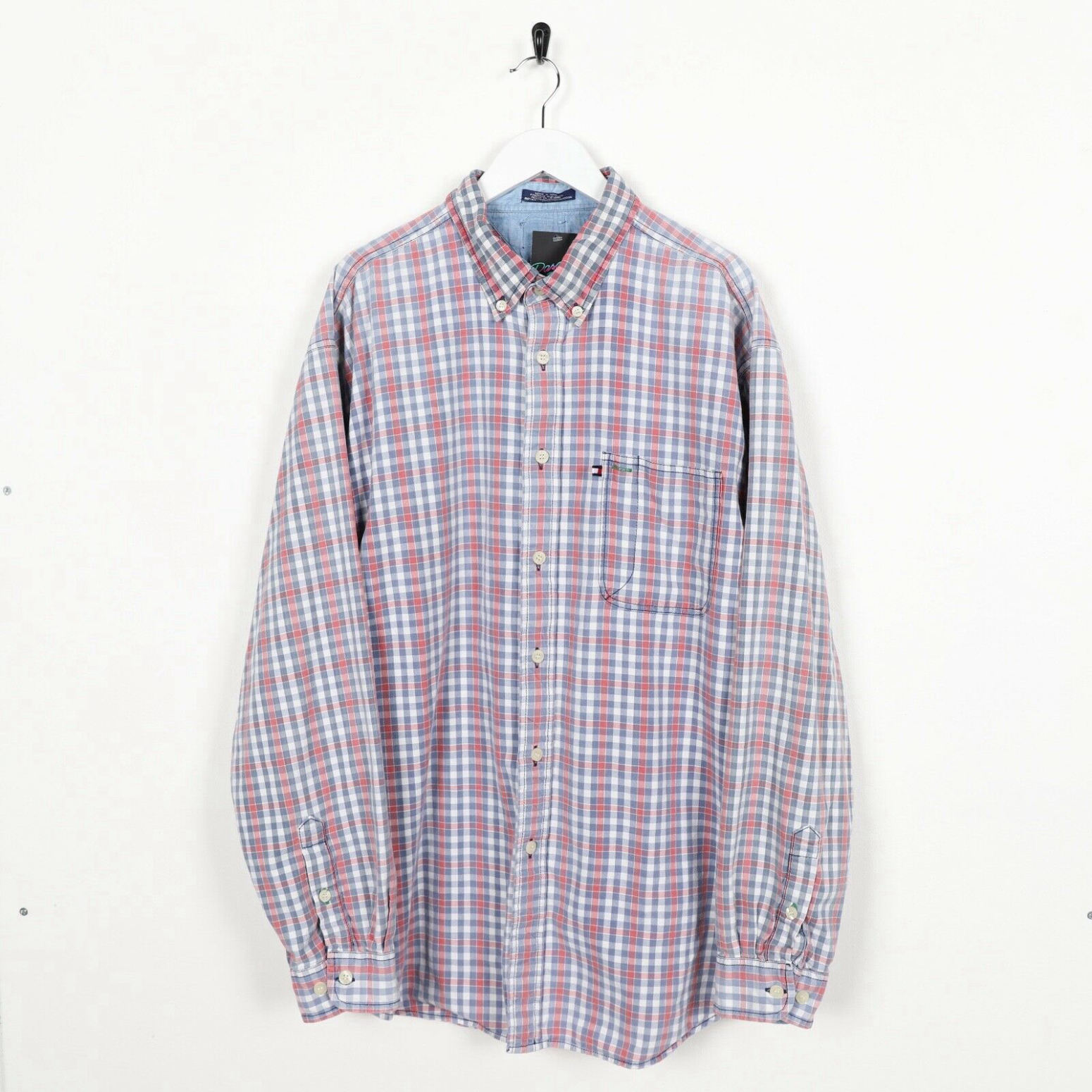 Tommy Hilfiger Lumber Jack Check Shirt Chemise Casual Homme