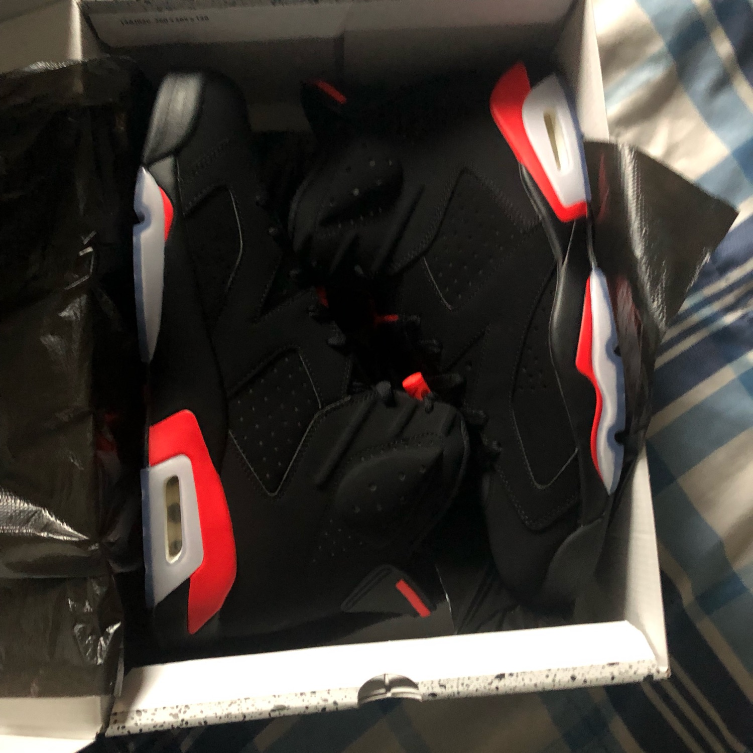 Infrared 6S Size 13