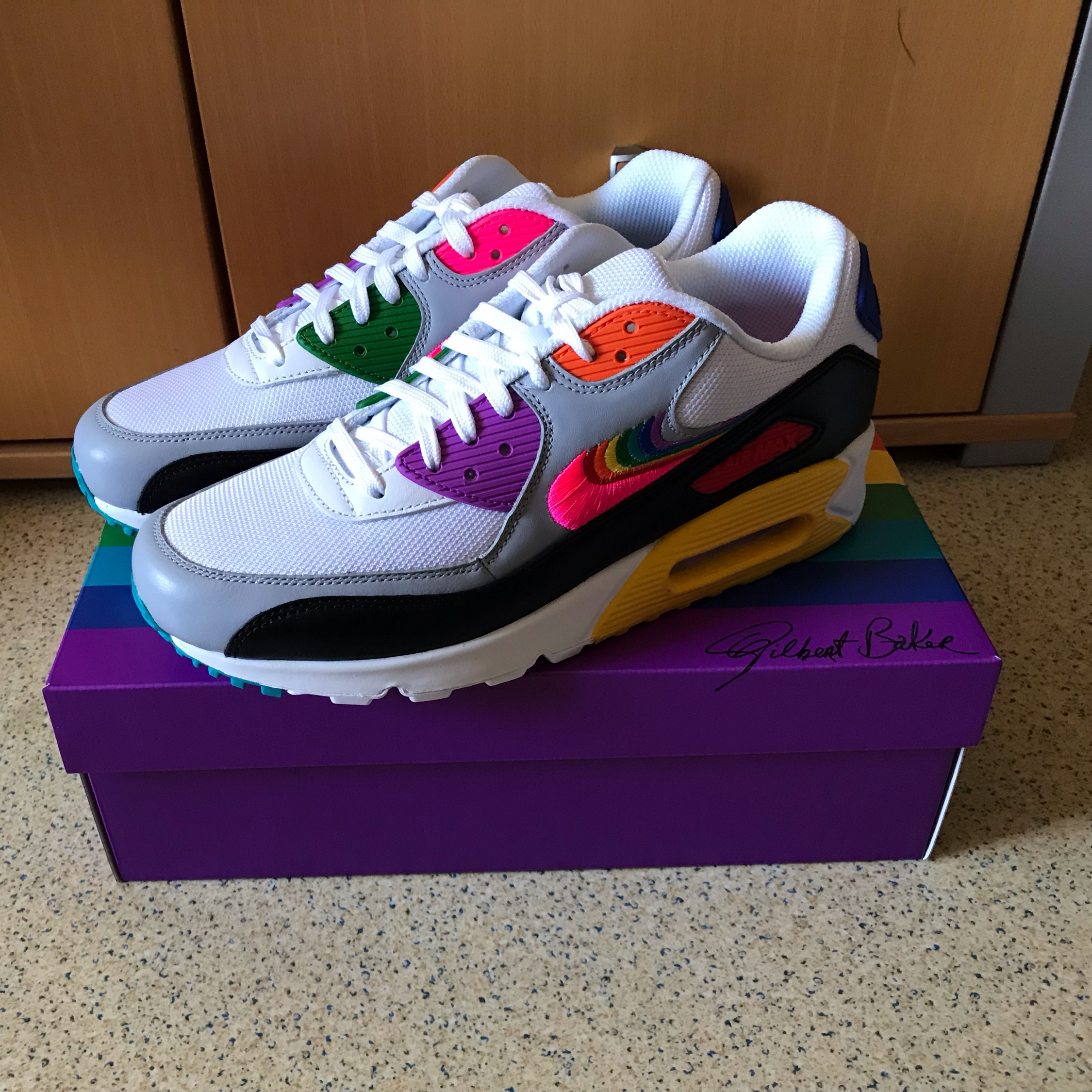 NIKE AIR MAX 90 LEATHER BLUE VOID voor 15,00